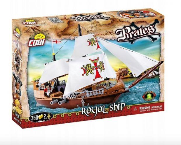statek piracki klocki Cobi