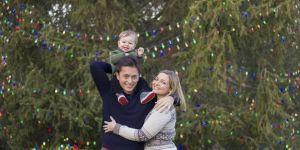 Stephen Ratpojanakul z żoną i synem Reedem