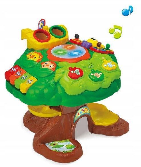 stolik edukacyjny drzewko
