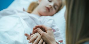 strach o chore dziecko