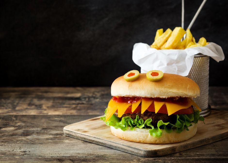 straszny hamburger