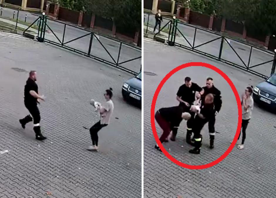 Strażacy uratowali dziecko