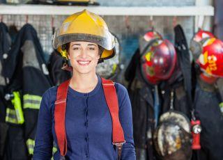 strażaczka, gender
