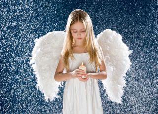 jak zrobić strój anioła