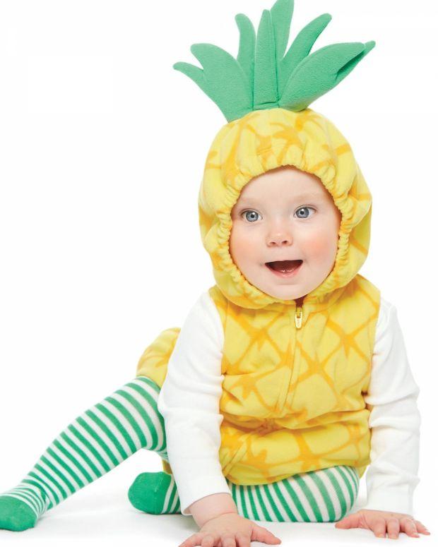Przebranie ananasek dla dziecka na bal karnawałowy