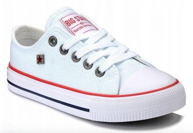strój na WF buty na WF trampki Big star