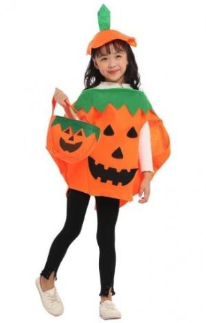 Strój dyni dla dziecka na Halloween