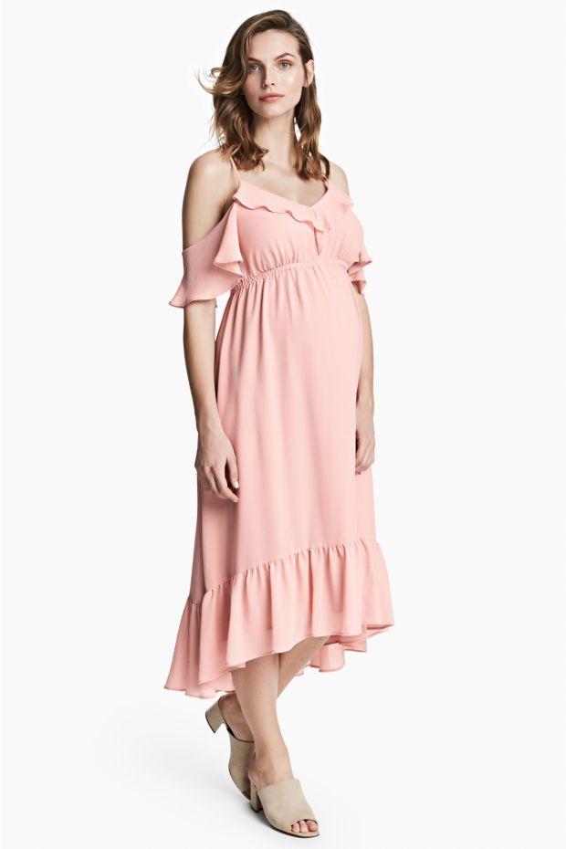 9562b17a12 10 długich sukienek ciążowych H M - lato 2017