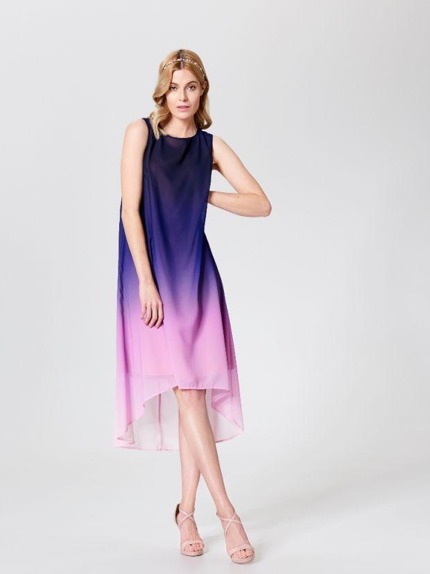 930c847eed sukienka cieniowana na uroczystości rodzinne HIT