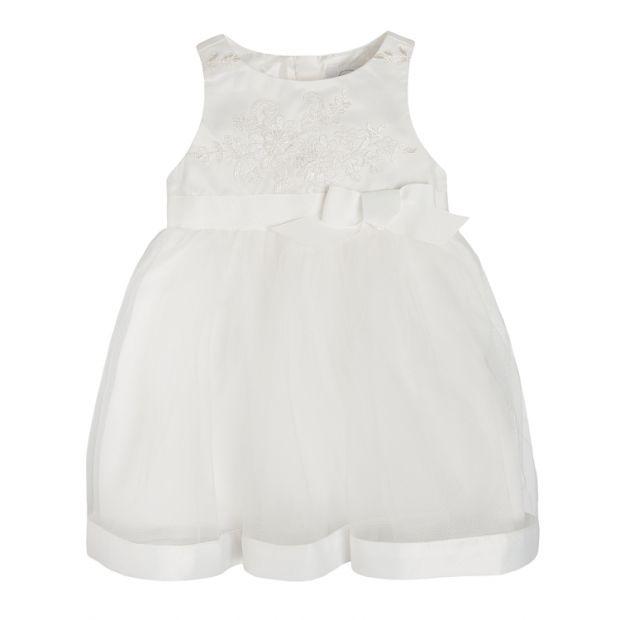sukienka wizytowa niemowlęca ecru cool club 45zł z 89.99zł.jpg