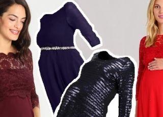 Sukienki ciążowe na sylwestra