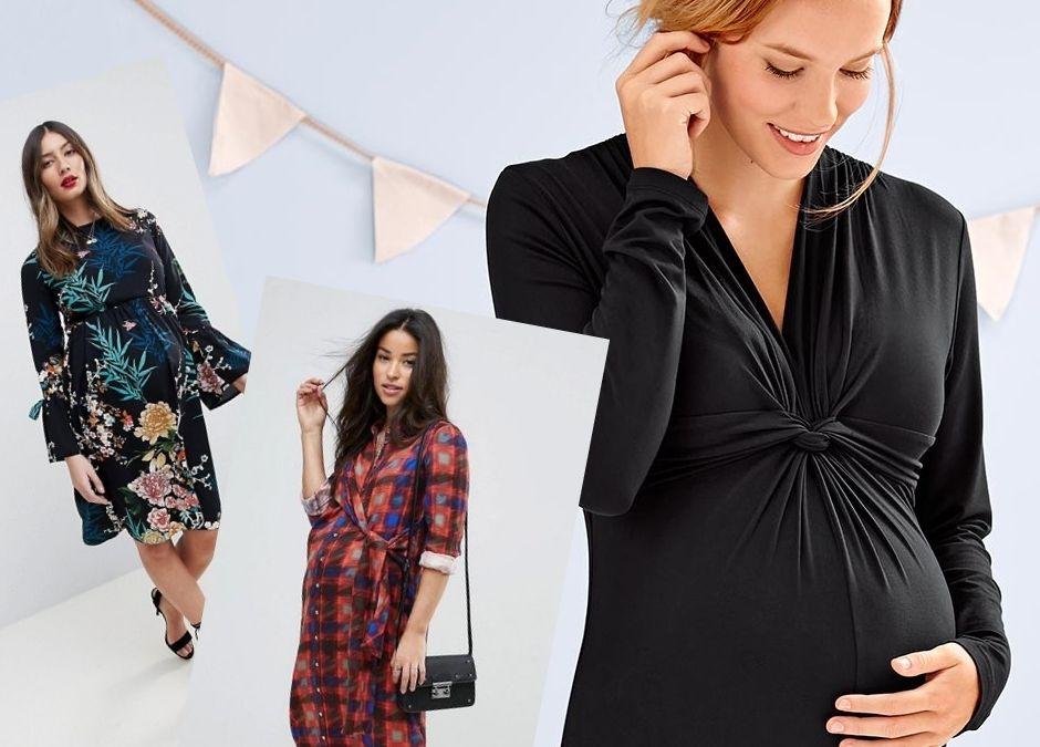 sukienki ciążowe sezonu najmodniejsze i wygodne