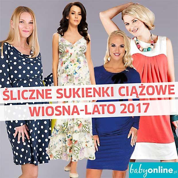 sukienki ciążowe wiosna 2017