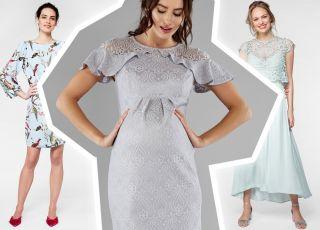 sukienki dla mam i przyszłych mam oraz gości na komunię