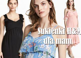 sukienki hm ciążowe na lato 2017 długie i średnie.jpg