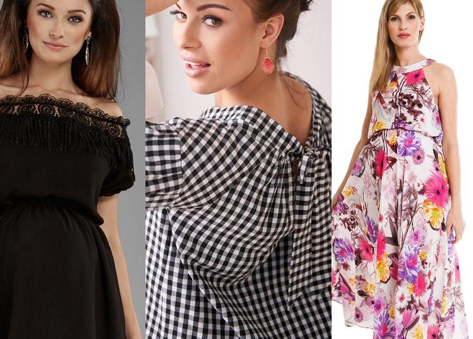 fca93910 Sukienki na lato dla ciężarnej - krótkie i długie. Supertrendy ...