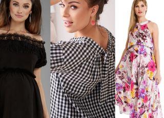 sukienki na lato dla ciężarnych najmodniejsze