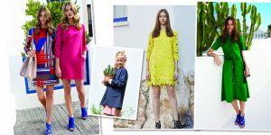 sukienki wiosenne, na lato
