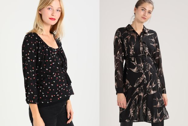 10 ciążowych bluzek, koszul i tunik na święta i sylwestra  dcGDT