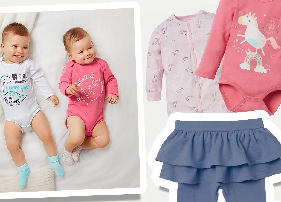 supermodne ubranka dla niemowląt w Pepco - wyprawka