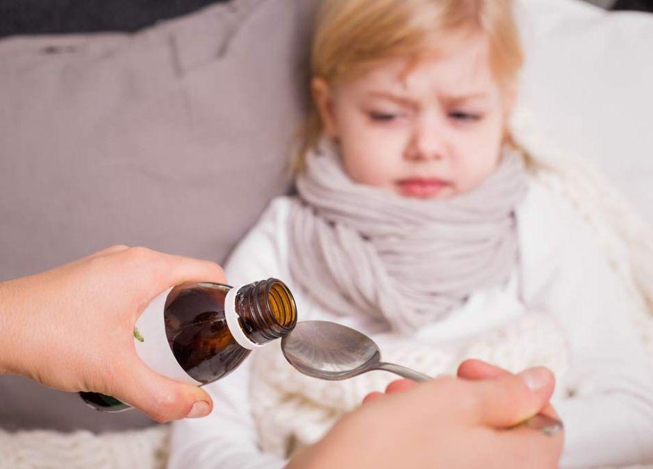 Surop czosnkowy na przeziębienie u dziecka
