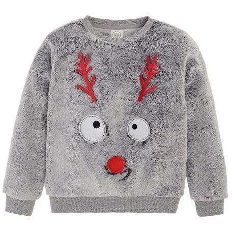 pluszowy sweter świąteczny SMYK