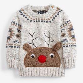 Sweter z reniferkiem