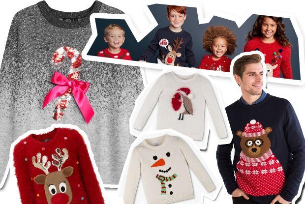 Swetry Swiateczne Dla Rodziny Najmodniejsze Motywy Na Boze Narodzenie Dla Dzieci I Par Mamotoja Pl
