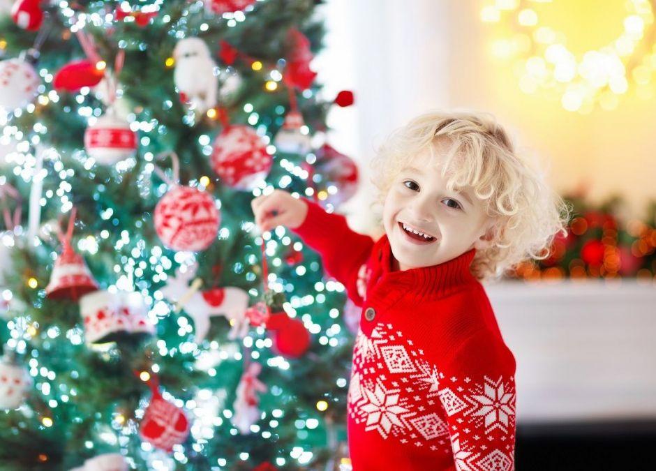 Swetry świąteczne dla dzieci
