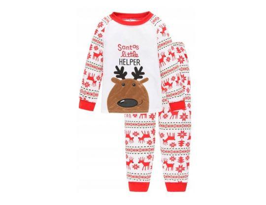 piżama świąteczna z reniferem