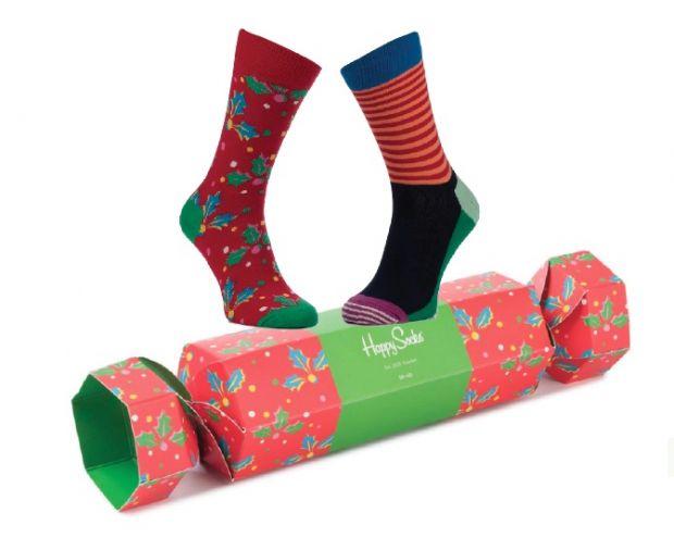 skarpety świąteczne w pudełku