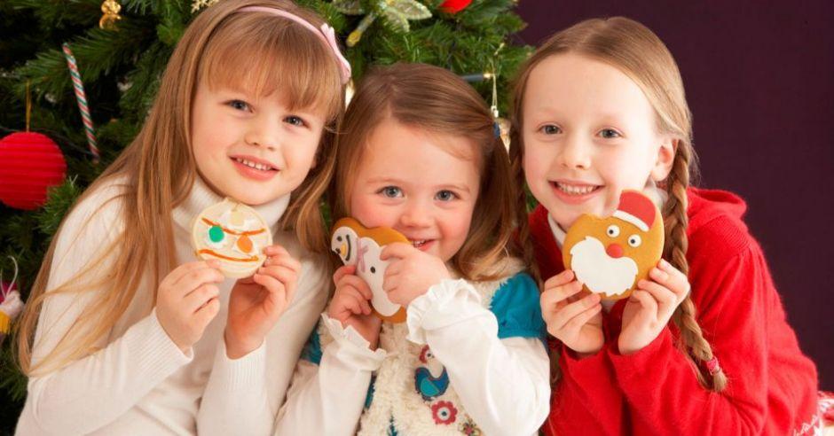 święta, Boże Narodzenie, choinika, dzieci, kuchnia świąteczna, pierniczki