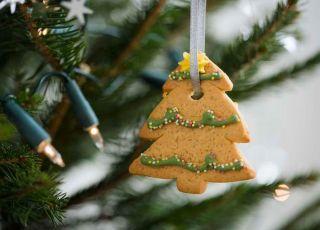 święta, Boże Narodzenie, choinka, pierniczki