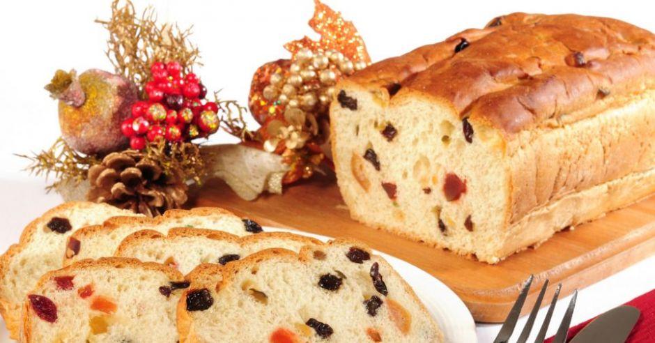 święta, kuchnia, keks, rodzynki, Boże Narodzenie