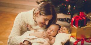 Święta z noworodkiem są absolutnie wyjątkowe