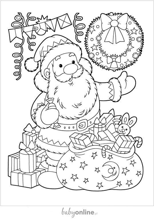 Aż 22 Kolorowanki Na Boże Narodzenie Do Druku Strona 8 Mamotojapl