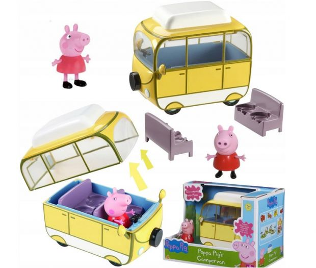 świnka peppa zabawki kamper