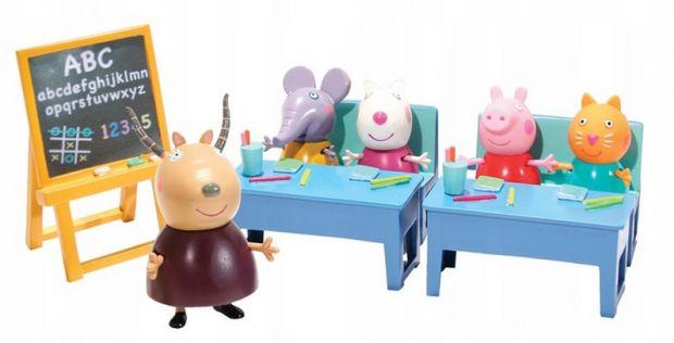 świnka peppa zabawki klasa szkolna