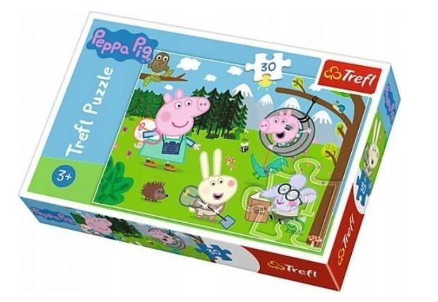 świnka peppa zabawki puzzle