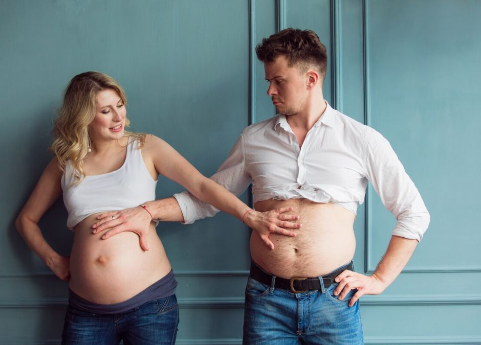 syndrom kuwady / mężczyzna w ciąży
