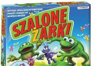 Szalone żabki - gra zręcznościowa/ Bandai