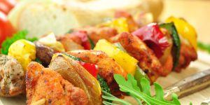 szaszłyk, przepis na szaszłyki z mięsem, przepisy dla kobiet w ciąży, przepisy kulinarne