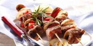 szaszłyk, szaszłyki, grill, mięso