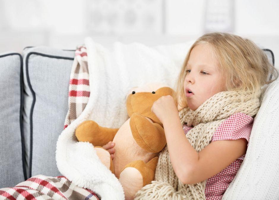 szczekający kaszel u dziecka