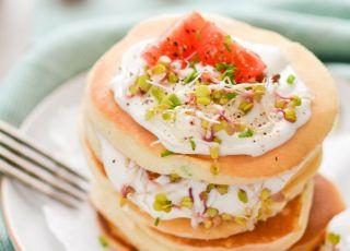 Szczypiorkowe pancakes na śniadanie - przepisy dla dzieci na Babyonline.pl