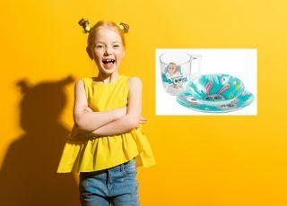 Szklane naczynia ze Słodziakami