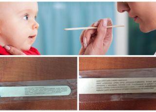 E133, cukier itp. w szpatułkach dla dzieci! Tym lekarz bada gardło twojego dziecka!