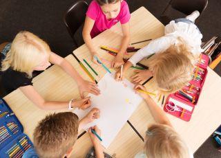 szkoła podstawowa, świetlica szkolna, uczniowie