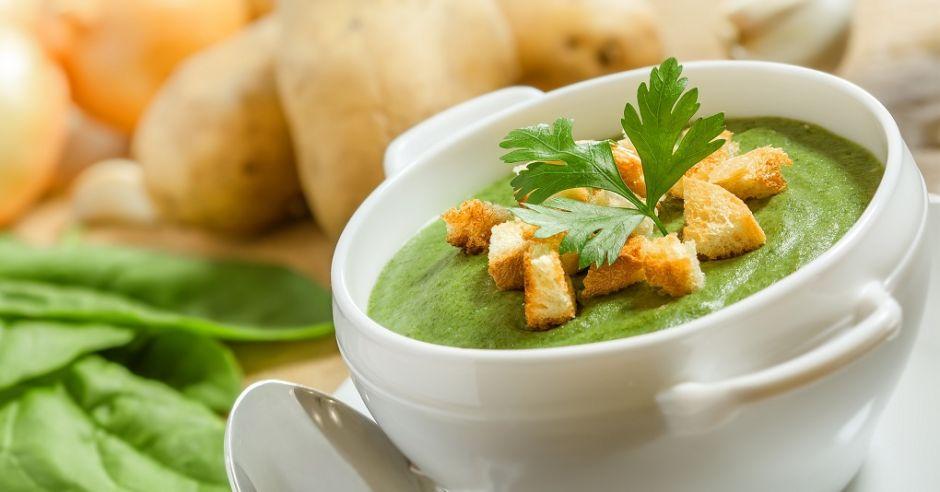 szpinak, zupa