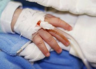szpital, dziecko, choroba, rotawirusy
